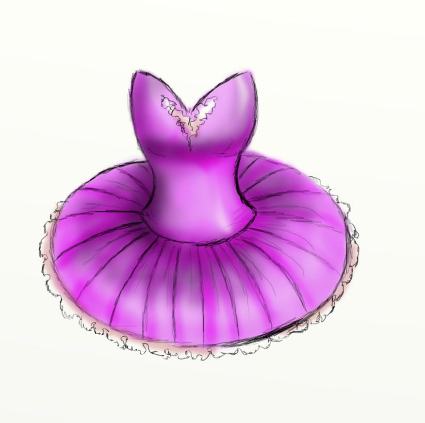 Ballerina Tutu Clipart.