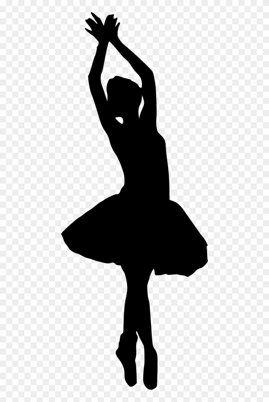 Free Png Ballerina Silhouette Png.