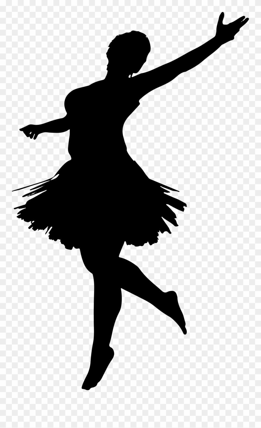 Ballet Dancer Silhouette Performing Arts.