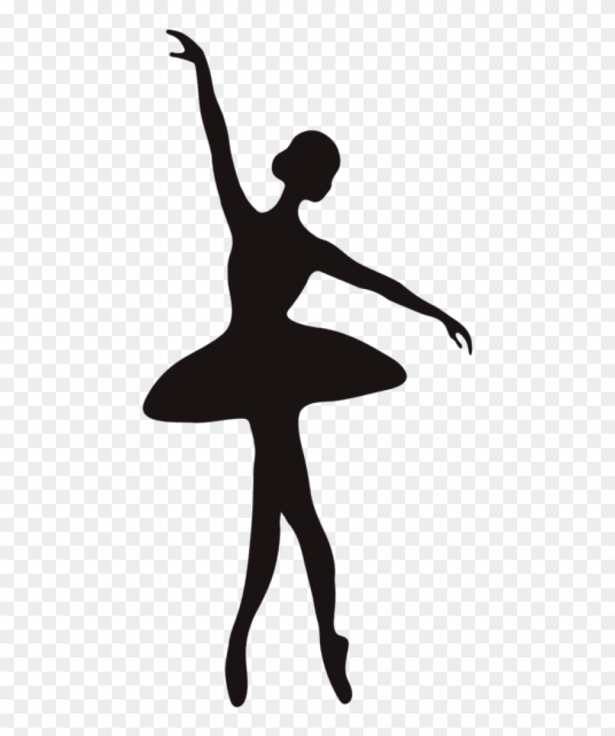Ballerina Silhouette Png.