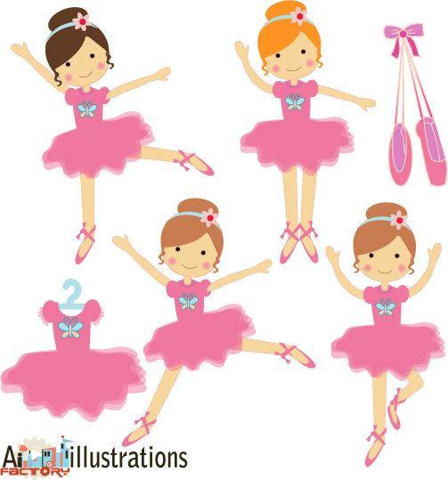 Ballet Dancer Clipart.