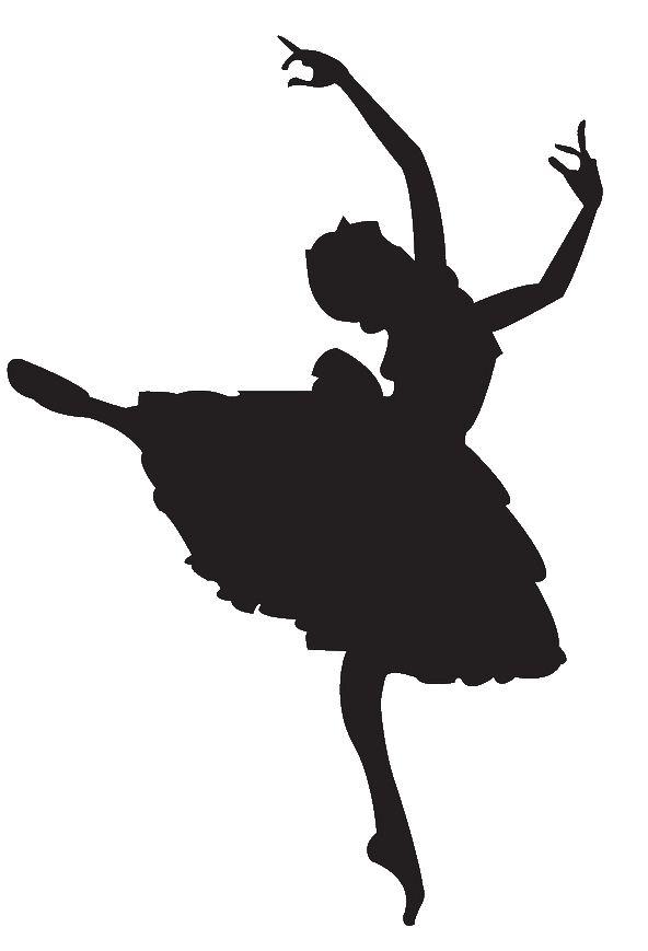 Ballet Dancer Clipart Silhouette.