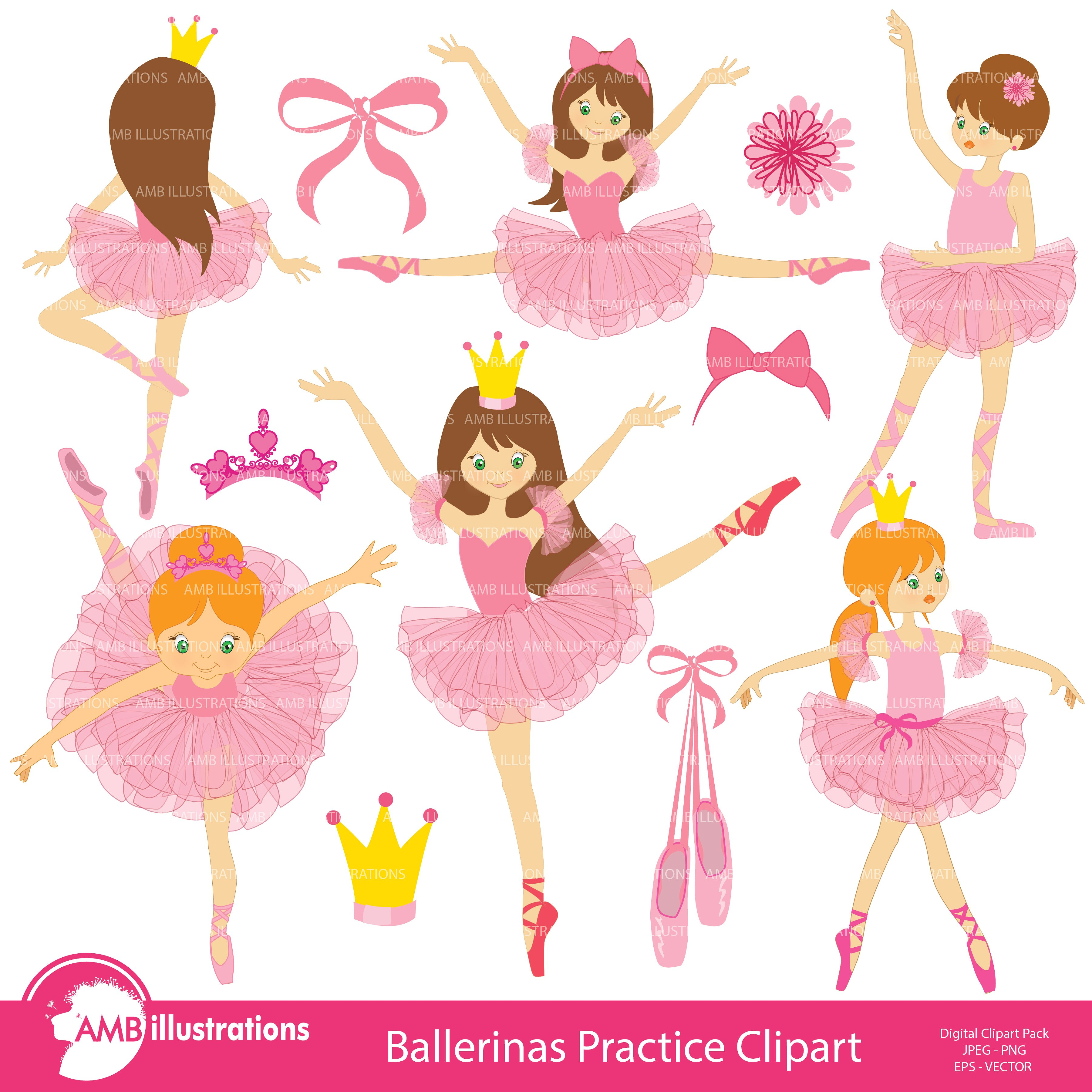 Ballet clipart Photos, Graphics, Fonts, Themes, Templates.