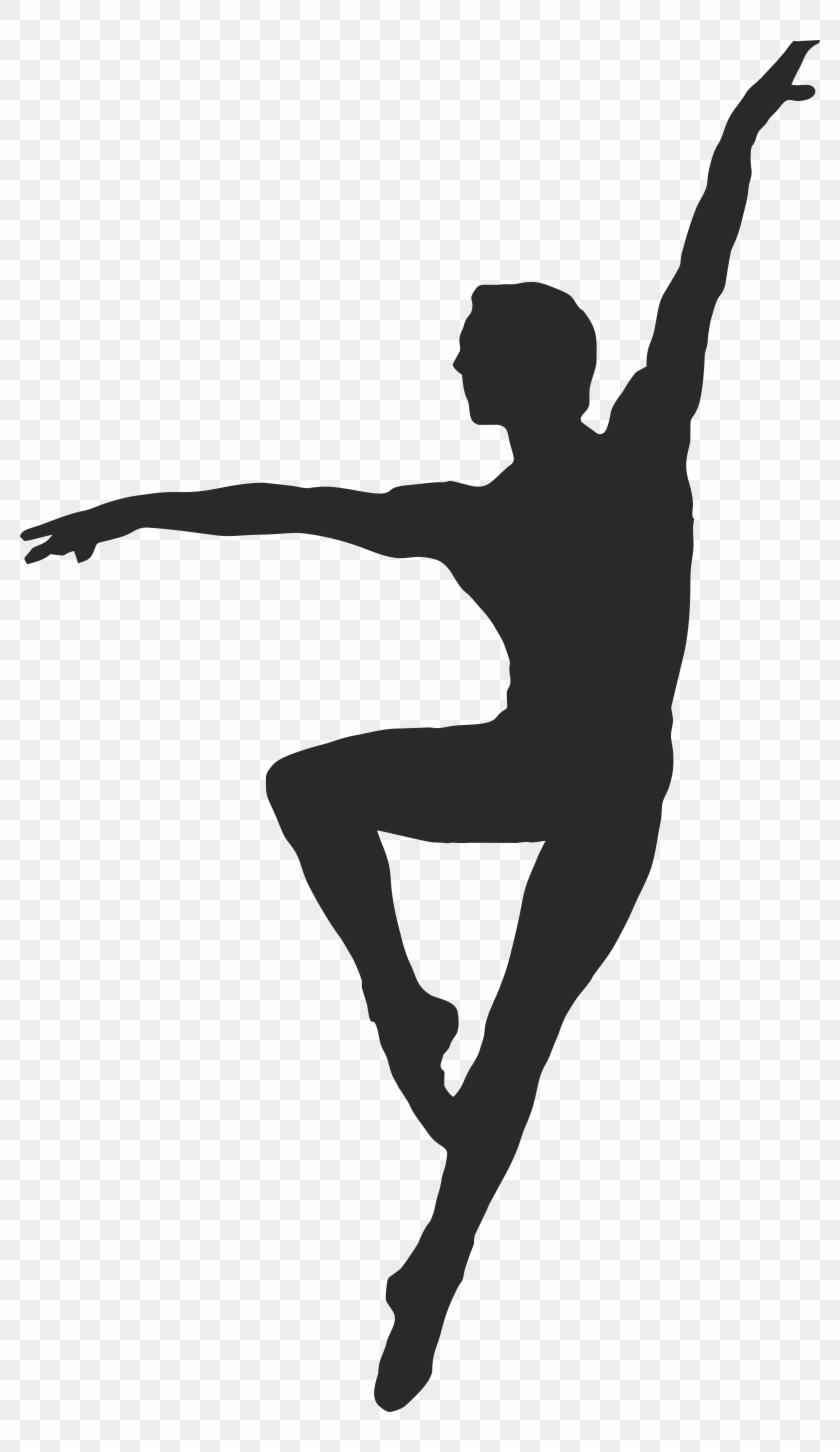 Unique Male Ballet Dancer Clip Art Design » Free Vector Art, Images.