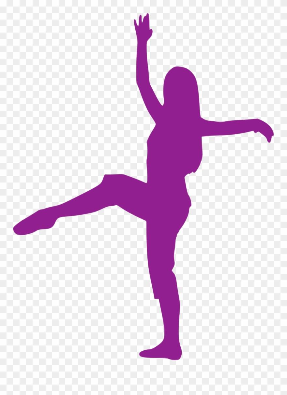 Silhouette Ballet Dancer Performing Arts Clip Art.