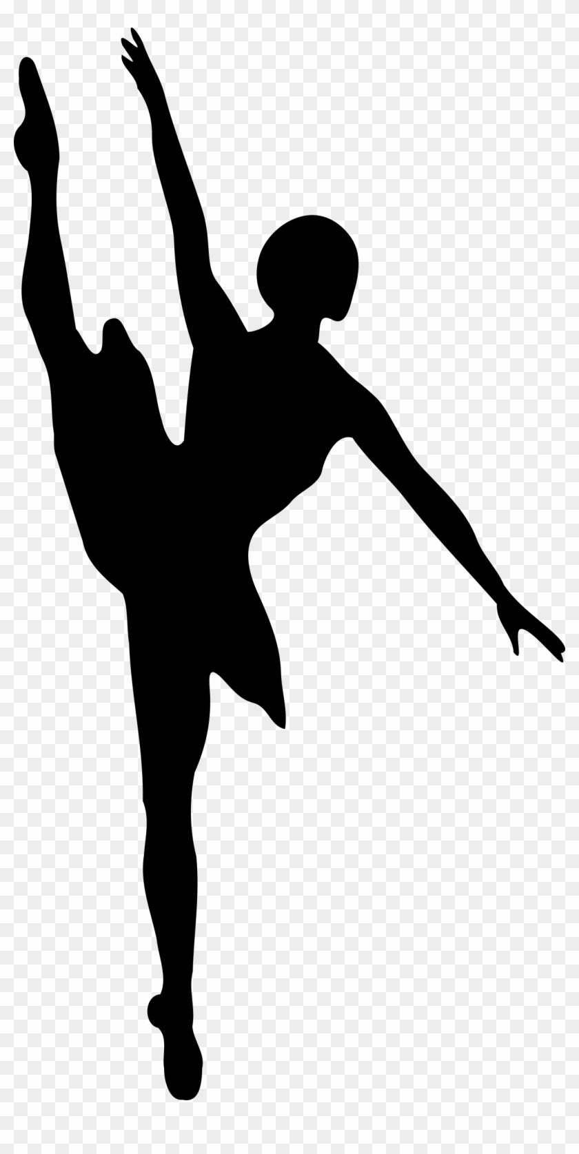 Ballet Dancer Silhouette Png.