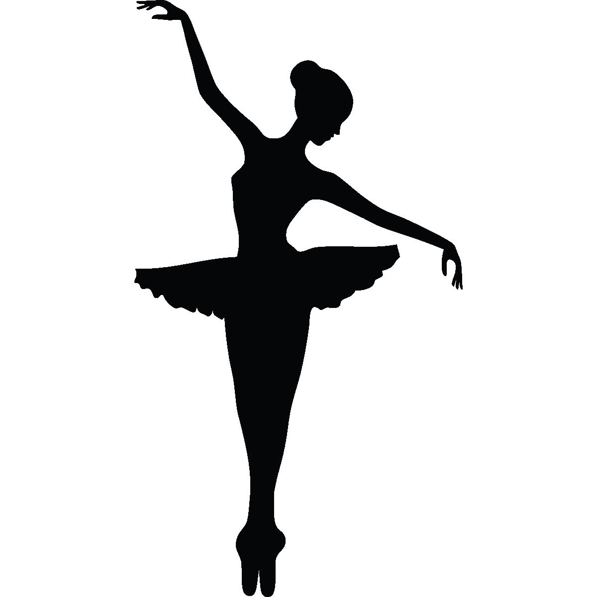 Wall decal Ballet Dancer Sticker.