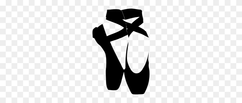 Ballet shoes.