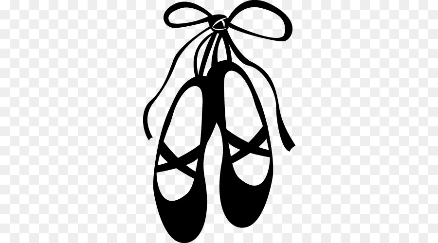 Free Ballet Slippers Silhouette, Download Free Clip Art, Free Clip.