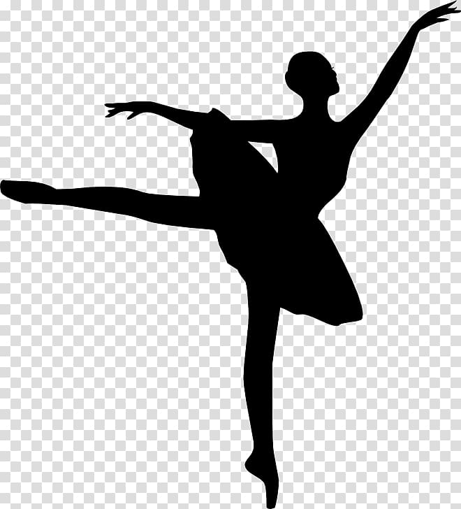 Ballet Dancer Silhouette , Ballet transparent background PNG.