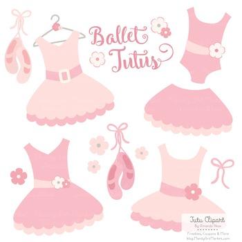Soft Pink Ballet Clipart.