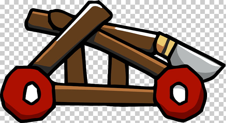 Scribblenauts Catapult Ballista Weapon , Ballista Catapult s.