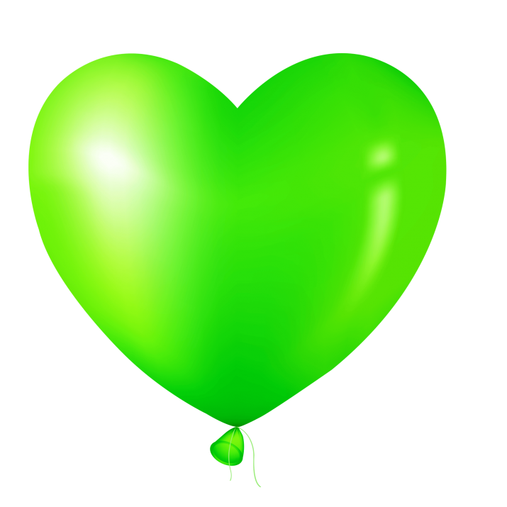 Green Heart Balloon Clipart PNG Image Free Download searchpng.com.