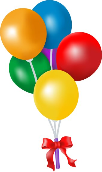 Cartoon Balloon Clipart.