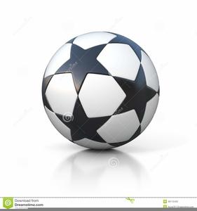 Clipart Ballon De Foot.