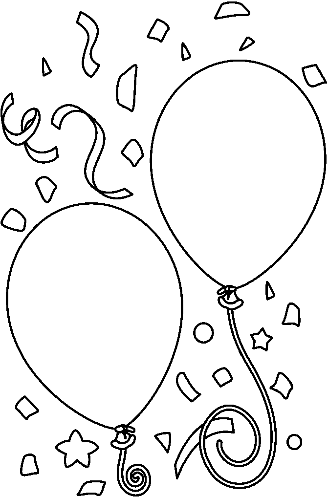 Balloon Clipart Black And White & Balloon Black And White Clip Art.
