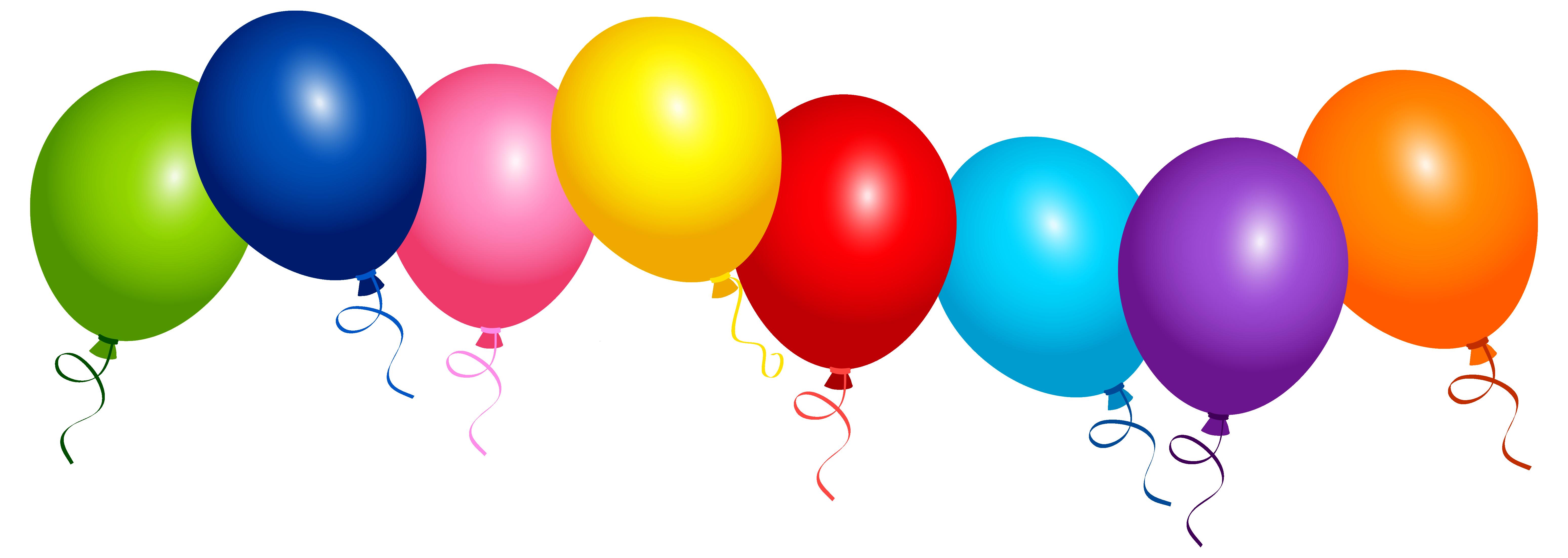 Ballons Clipart.