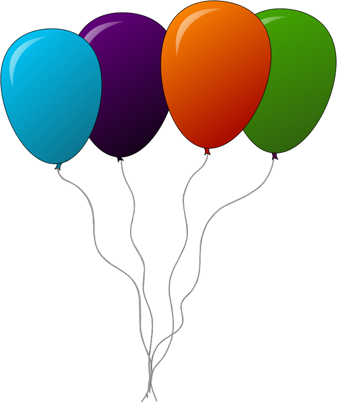 Free to Use & Public Domain Balloon Clip Art.