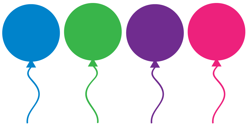 Free Birthday Balloon Clip Art.