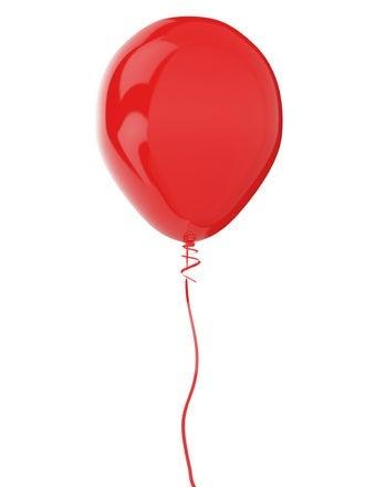 Baking Soda and Vinegar Balloon.