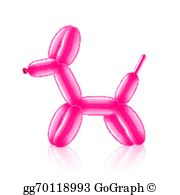 Balloon Animal Clip Art.