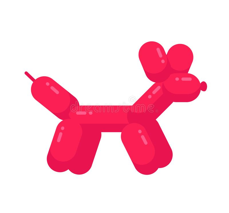Balloon Dog Stock Illustrations.