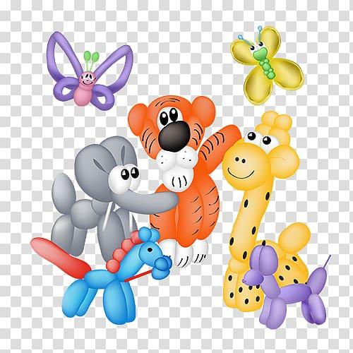 Balloon Dog Balloon modelling , Balloon Animals transparent.