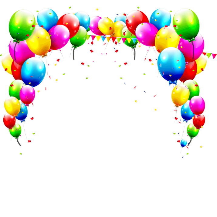 Birthday Balloons Background PNG Image Free Download searchpng.com.