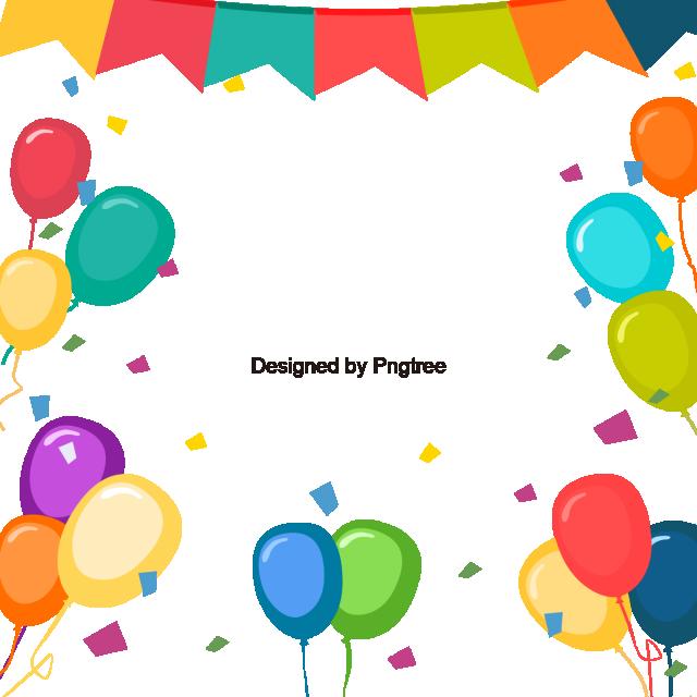Cartoon Balloon Background, Cartoon Design, Balloon, Color Balloon.