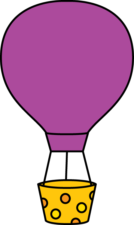 Hot Air Balloon Basket Clip Art.