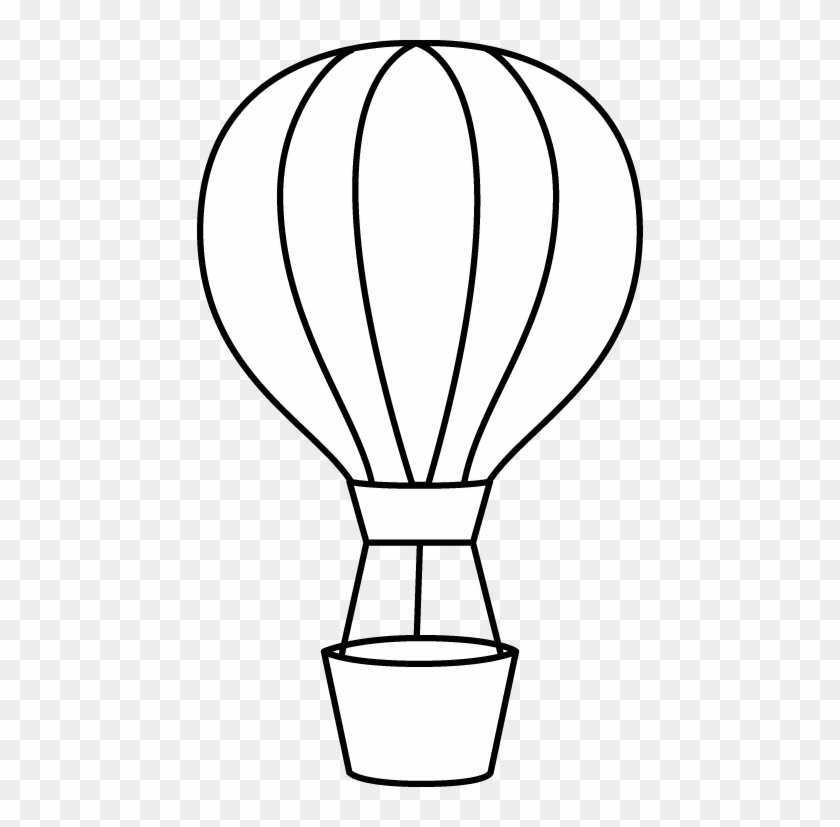 Hot Air Balloon Black And White Hot Air Balloon Clipart.