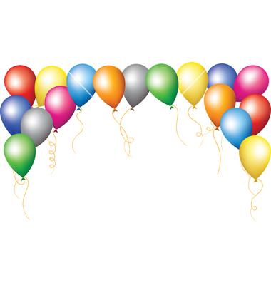 74+ Balloon Border Clip Art.