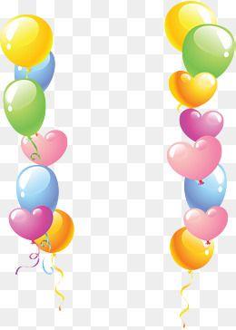 Color Balloon Border, Color Clipart, Color Ball, Colorful.