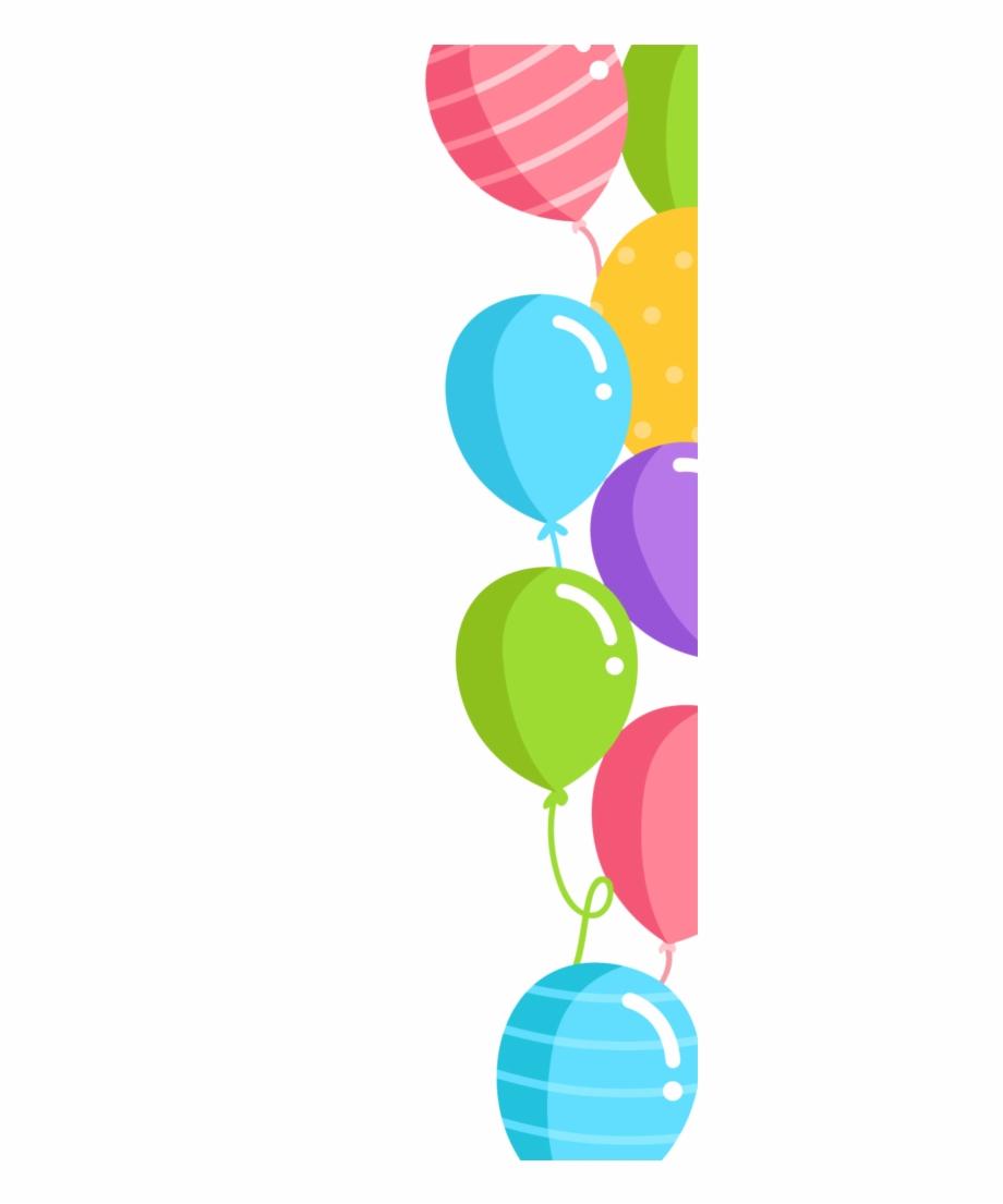 Balloons Border Png.