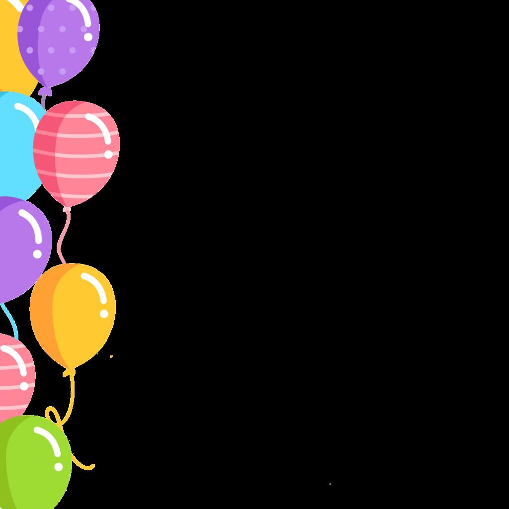 Balloons border png free download on scubasanmateo.