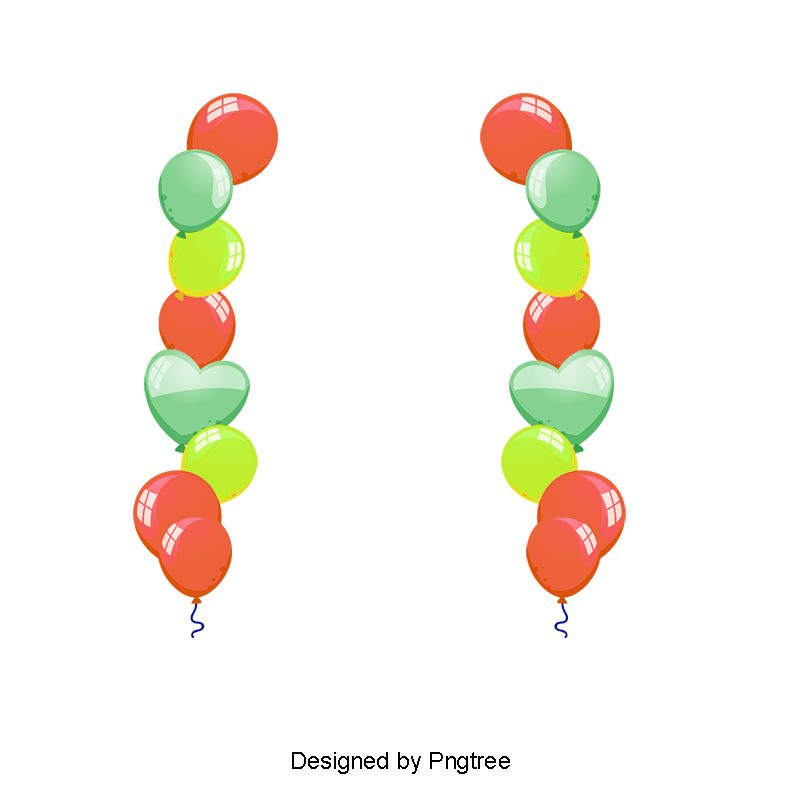 Balloon Border PNG Images.