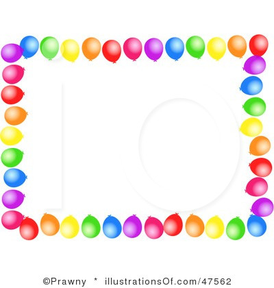 Balloon Borders Clipart Clipart Kid.