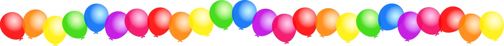 Balloon Border Illustration 99688.