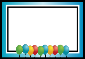 Balloon Borders Clipart (96+ images in Collection) Page 1.