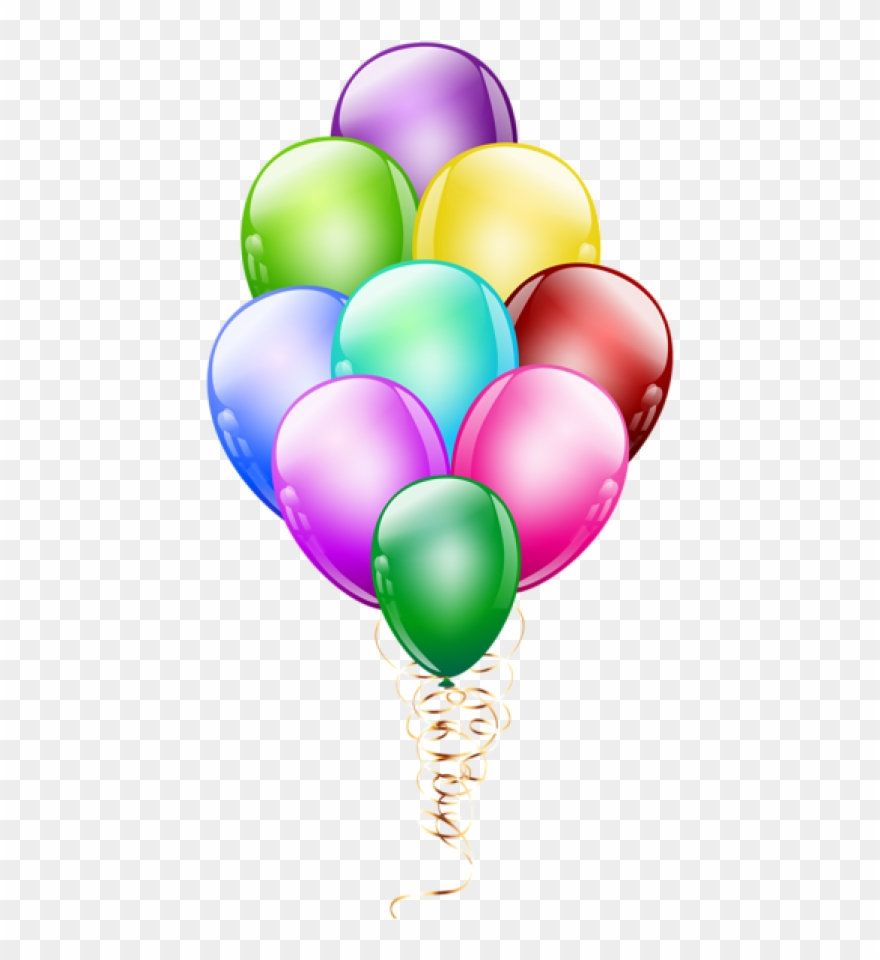 Balloon Bunch Png.