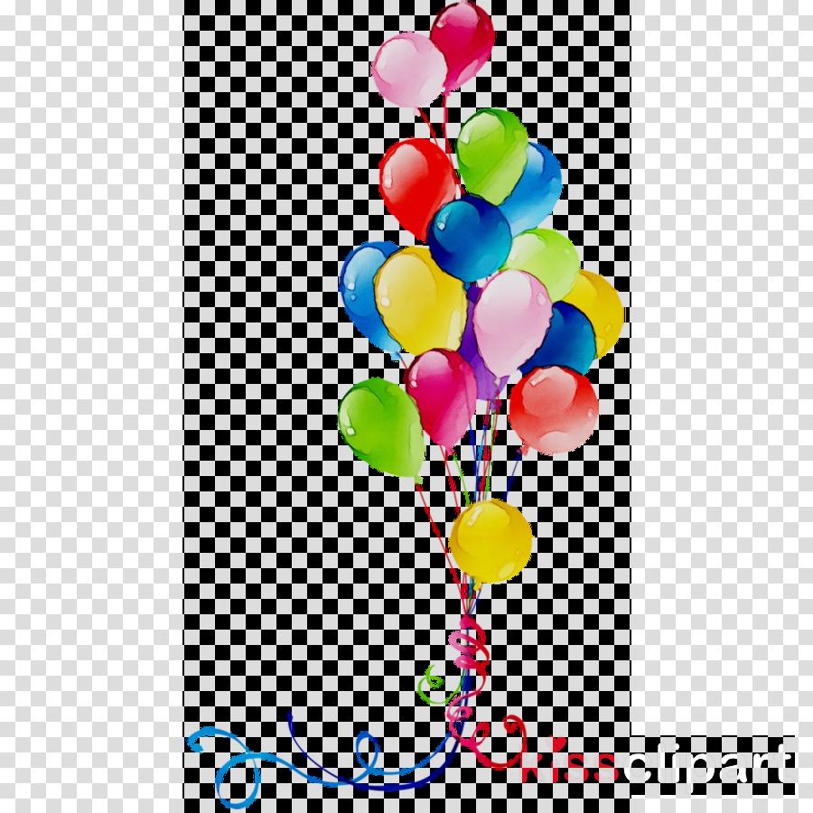 Birthday Balloon Cartoon clipart.
