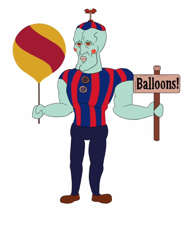 Handsome Balloon Boy.