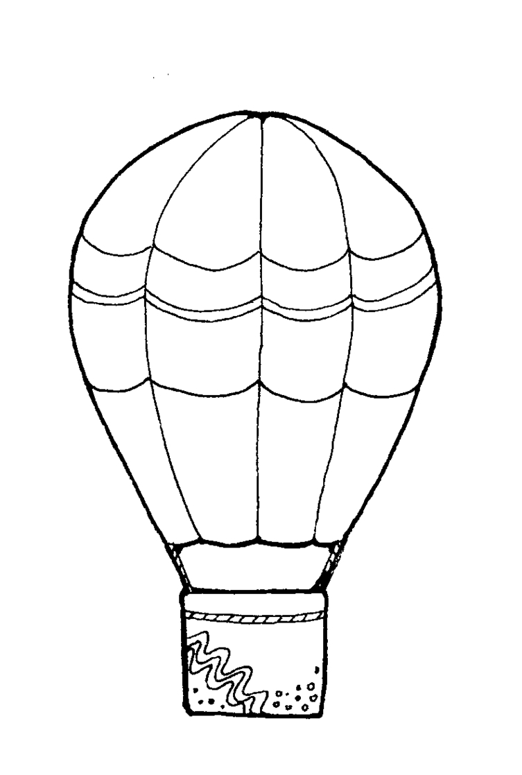 Free Clip art of Balloon Clipart Black and White #3121 Best Free.