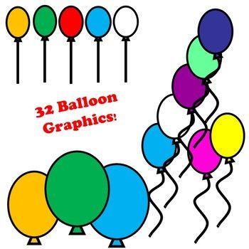 Balloon Clip art Images.