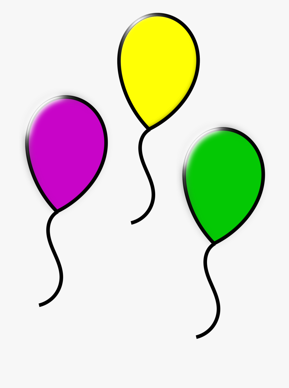 Colored Balloons Icons Png Free And Downloads.