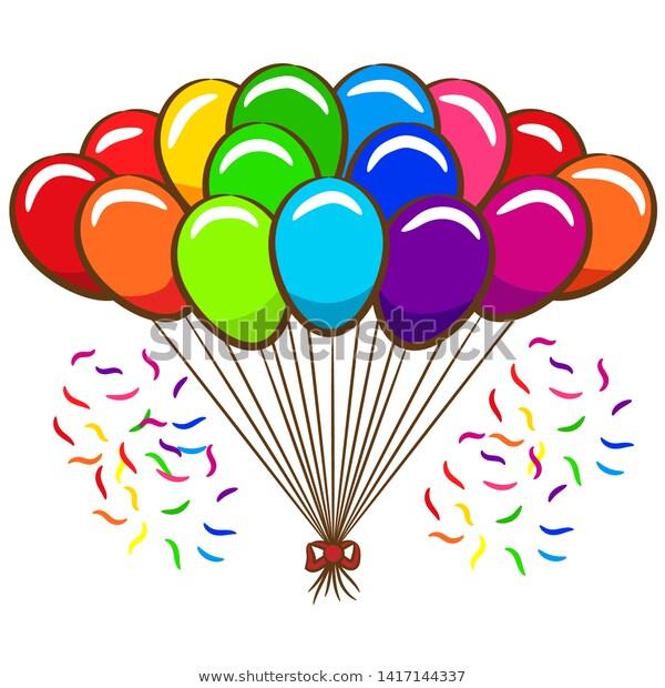 balloon clipart ,balloon vector , balloon design , balloon.