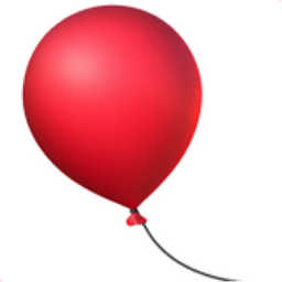 Balloon Emoji (U+1F388).