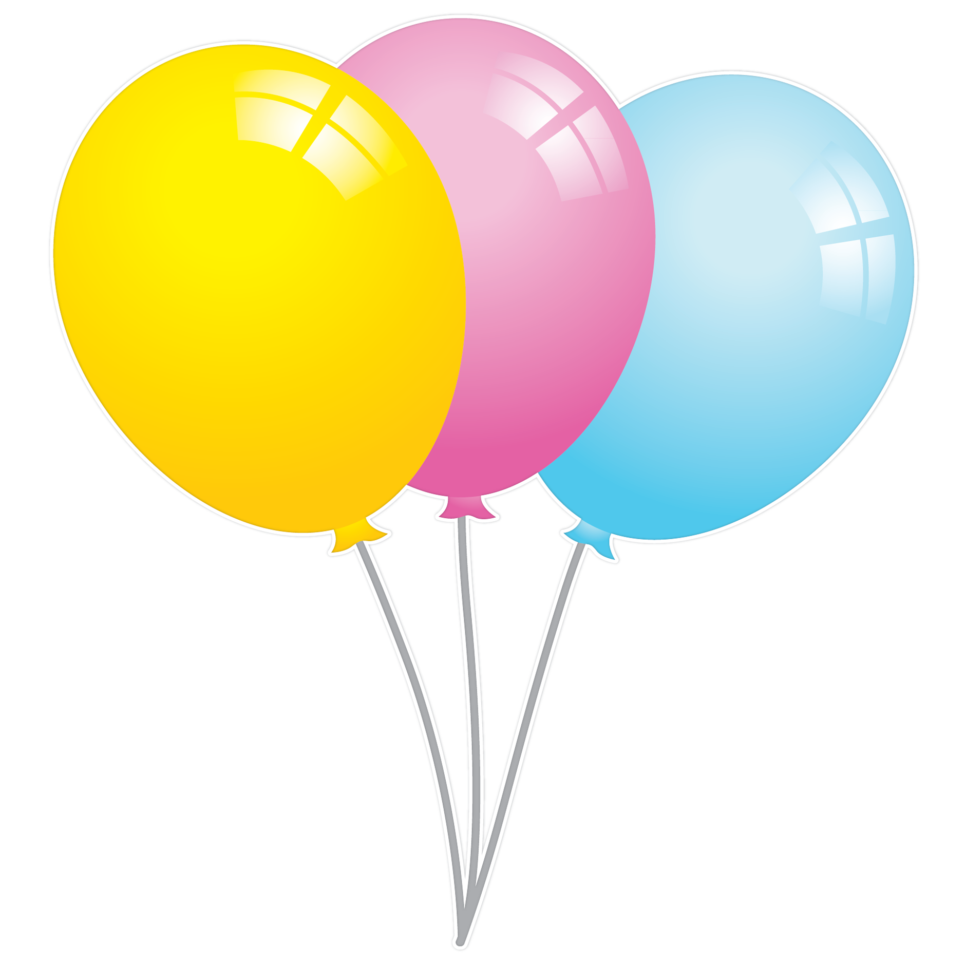 Birthday Balloons Png.