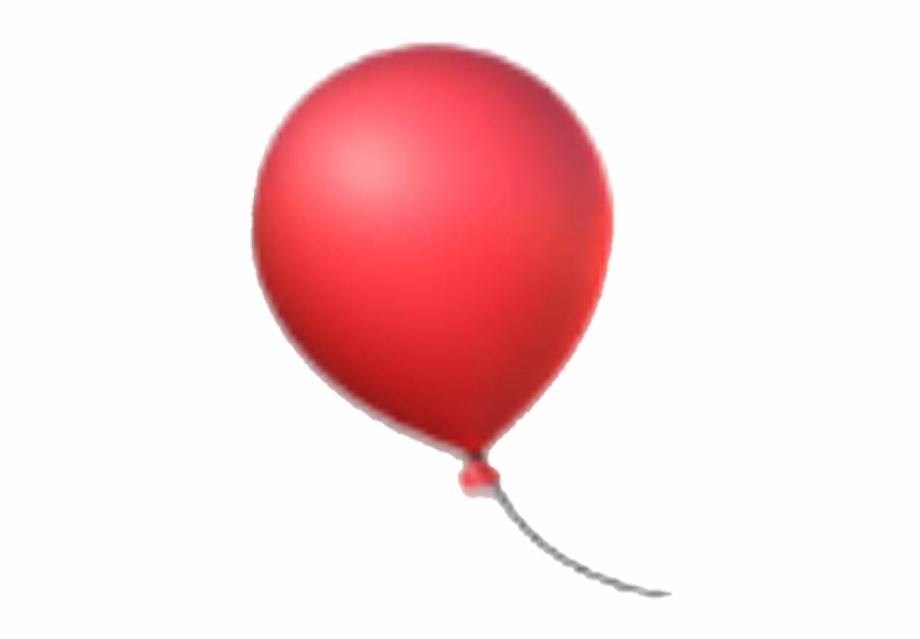 emoji #balloon #party #redballoon #red #ball.