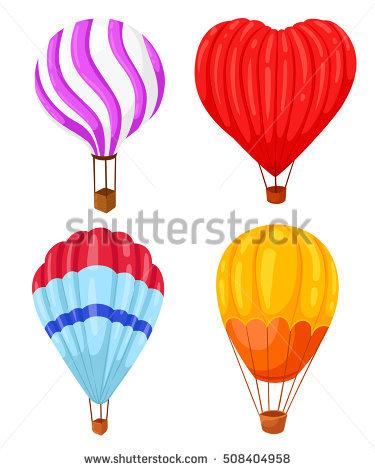 Hot Air Balloon Silhouette Stock Photos, Royalty.